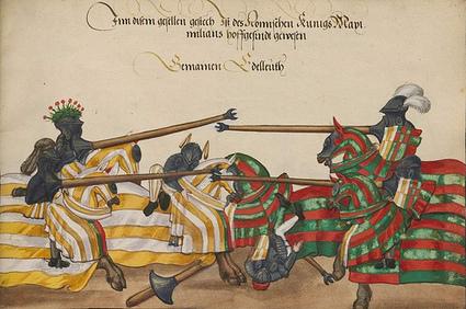 Los torneos medievales | Mundo Historia | Artes, Música y Deportes en el Medioevo | Scoop.it