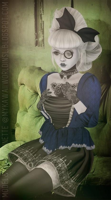 My Kawaii World in SL: Antoinette Blue | My Kawaii World in SL | Scoop.it