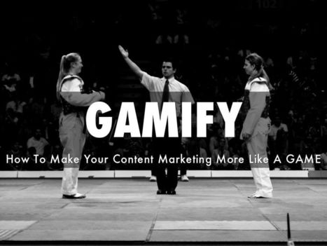 GAMIFY YOUR Content Marketing - A New @HaikuDeck by @Scenttrail | Contests and Games Revolution | Scoop.it