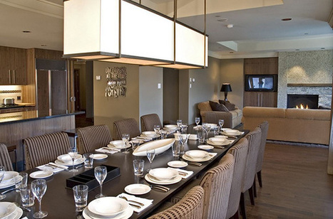Elegant Fine Dining Space with Masculine Flair | Simple Decorating Ideas For Home | Scoop.it