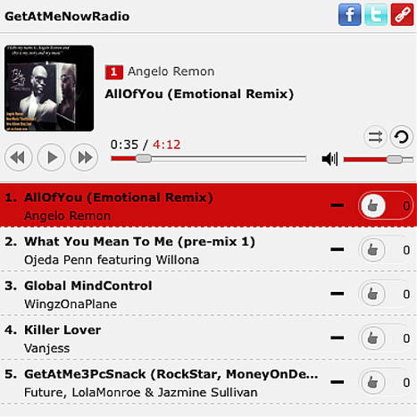 GetAtMeNow: GetAtMeNow Radio Top 5 (7/20/2014) Ft Angelo Remon, Ojeda Penn, WingzOnaPlane, VanJess, GetAtMe3PcSnack ft Future, Lola Monroe, Jazmine Sullivan | GetAtMe | Scoop.it