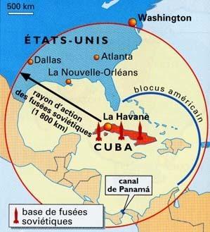 La crise de Cuba - La guerre froide (1945-1989) | la crise de cuba | Scoop.it