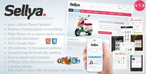Sellya - Responsive Prestashop Theme | PrestaShop Development | Scoop.it