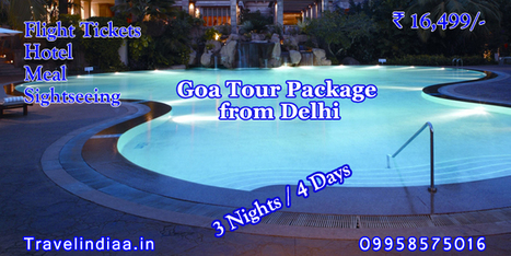 Goa Honeymoon Tour Package with best services and affordable price | Travel Indiaa Tour Package | Scoop.it