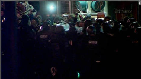 More than a dozen arrested after Occupy Portland protest | Ashley Connelly - First Amendment Freedom to Assemble | Scoop.it