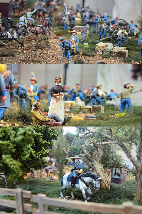 Battle of Gettysburg American Civil War (ACW) Toy Soldiers Diorama | Military Miniatures H.Q. | Scoop.it