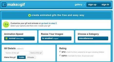 Para crear gifs animados desde Internet | Lectura, TIC y Bibliotecas | Scoop.it