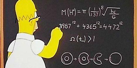 Les mathématiques et les Simpson: un dessein animé | Culture à la ferme | Scoop.it