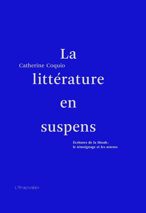 "[agenda] 19 mai, Paris, Catherine Coquio | ""Qui si je criais...?"" 