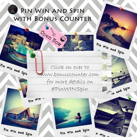 Pin Win and Spin with Bonus Counter | Bonus Counter | How to Social Media 101 | Scoop.it