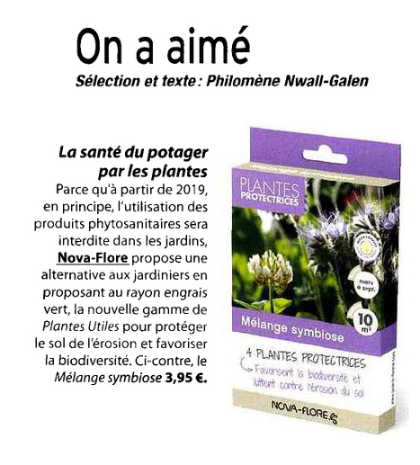 LA santé du potager par les plantes - Fait-Main Pas à pas - juin 2016 | Revue de presse Nova-Flore | Scoop.it