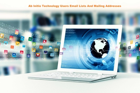 Ab Initio Technology Users List | Ab Initio Customer & Vendors Email Addresses | Technology Email Lists and Mailing Database | Scoop.it