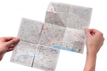 Paper Map Lets You Zoom Into Neighborhoods [Pics] - PSFK | Idées d'ailleurs | Scoop.it