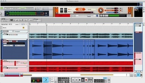 Reason 7′s New Tools for Slicing, Stretching, Retiming Audio: Q&A ... | The Music Electronic | Scoop.it