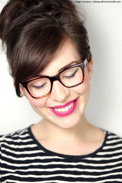 Makeup Tips for Girls Who Wear Glasses   Beauty & Fashion Tips   Scoop.it