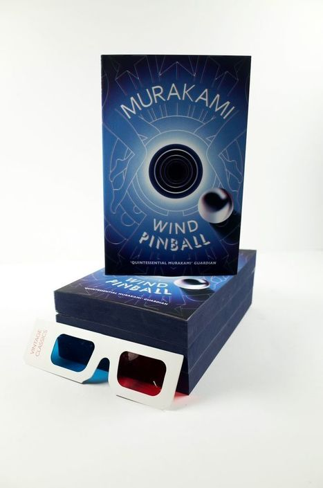 Vintage creates 3D edition of Murakami's first novels for Waterstones  | Ebook and Publishing | Scoop.it