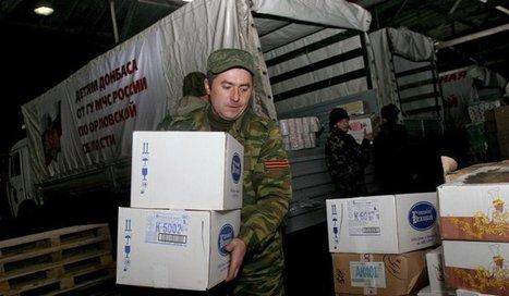 Depuis août la Russie a livré au Donbass près de 15 000 tonnes d'aide ... - Voix de la Russie | Infodetox | Scoop.it