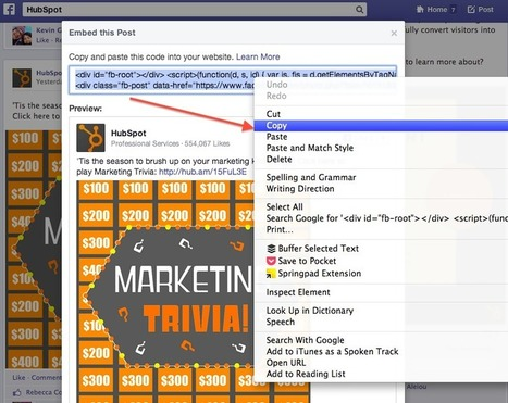 How to Add HTML Embed Codes to Your Website [Quick Tip] | AtDotCom Social media | Scoop.it