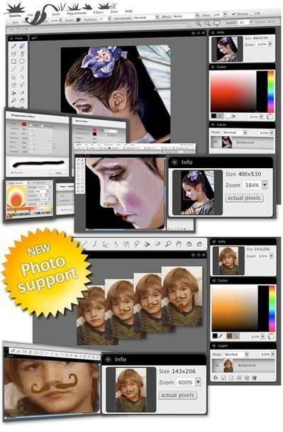 Queeky Tools - create speedpaint drawings online . Queeky - Paint and Replay | FOTOTECA INFANTIL | Scoop.it