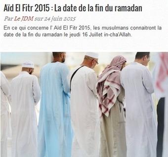 Aïd El Fitr 2015 - Google Trends - Comment déterminer la date de fin du Ramadan 2015 avec le calendrier islamique | Logiciel Gratuit Licence Gratuite | Scoop.it