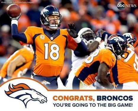 Twitter / ABC: Denver Broncos crowned AFC ... | NFL FOOTBALL | Scoop.it