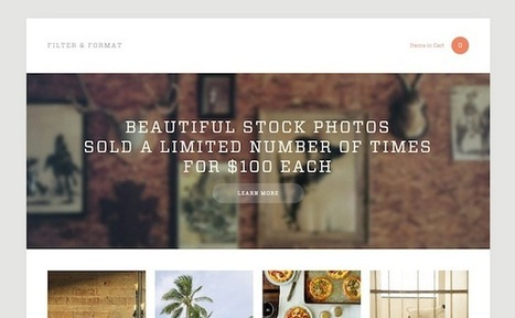 How to Find Stock Photos That Don't Suck - DesignRope | Charities and Social Media | Scoop.it