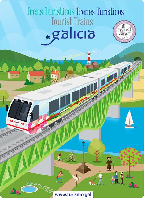 Dos rutas nuevas en trenes turísticos en Galicia | Caminhos de Ferro Vale da Fumaça | Scoop.it