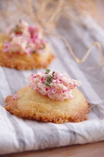 Cookies au parmesan et leur beurre de radis | The Voice of Cheese | Scoop.it