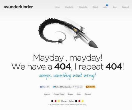 Inspiration | 404 Error Page Designs | Designers Resources | Scoop.it