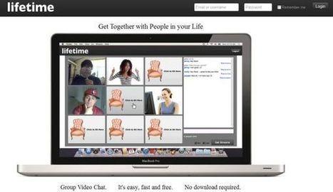Lifetime.fm – establece chat de vídeo hasta con ocho usuarios más en tu propia sala | Recull diari | Scoop.it