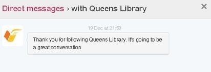Good Twitter practice for libraries « Tame The Web | SchoolLibrariesTeacherLibrarians | Scoop.it
