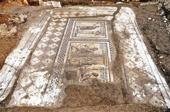 ARCHAEOLOGY - New mosaic discovered in bazaar construction | HeritageDaily Archaeology News | Scoop.it