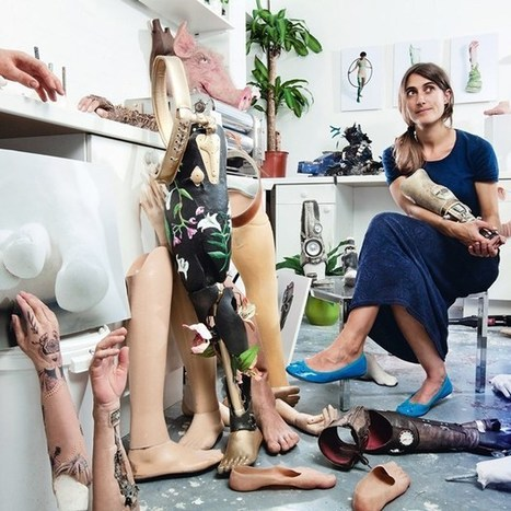 Sophie de Oliveira Barata :  prosthetics artist creating gadget limbs for amputees | Ogunte | Women Social Innovators | Scoop.it