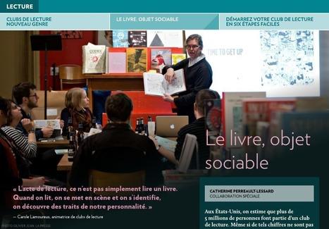 Clubs de lecture nouveau genre - La Presse+ | Bibliothèque scolaire | Scoop.it