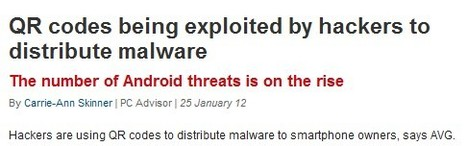 QR codes being exploited by hackers to distribute malware | QR-Code and its applications | Scoop.it