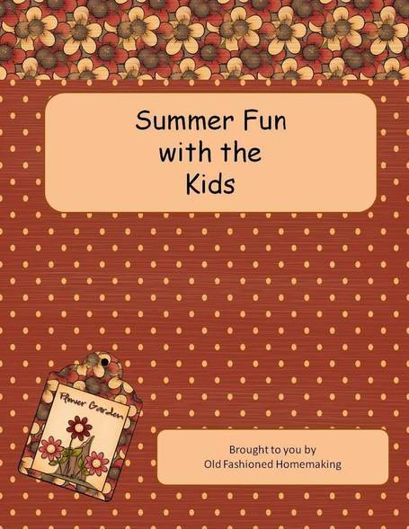 Summer Fun with the Kids eBook | Homemaking | Scoop.it