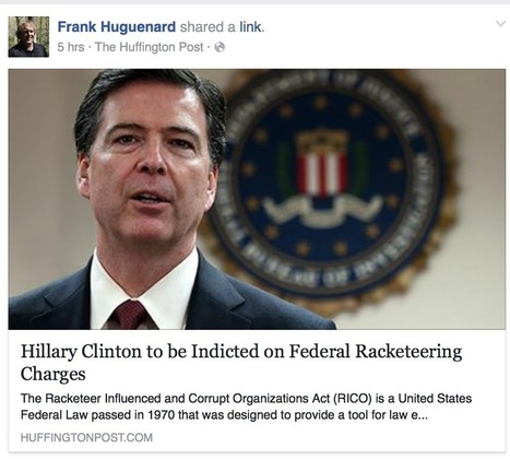 Breaking: Hillary Clinton to be Indicted on Federal Racketeering Charges [?] | Saif al Islam | Scoop.it