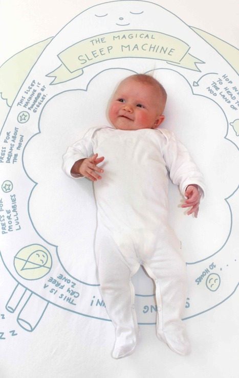 Cot sheets for babies, with a sense of humour - The Interiors Addict | Linens | Scoop.it