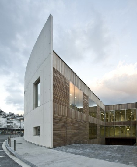 [San Sebastián, Gipuzkoa, Spain] Carlos Santa María Center / JAAM sociedad de arquitectura | The Architecture of the City | Scoop.it