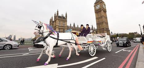 Des calèches tirées par des licornes pour faire le tour de Londres | Marketing et Promotions | Scoop.it