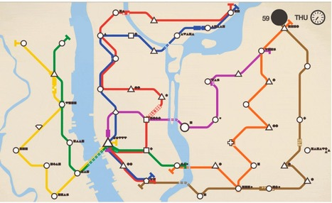 Design a new subway system for your favorite city | URBANmedias | Scoop.it