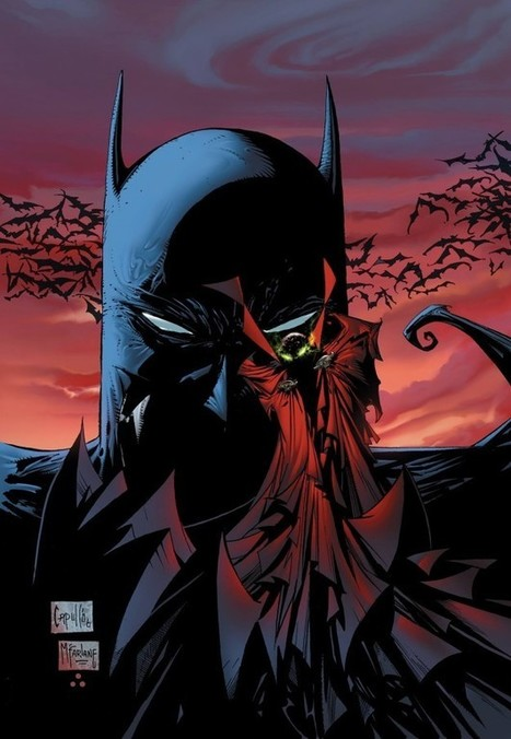 McFarlane reveals abandoned Spawn/Batman crossover plans - Comic Book Resources | Comic Book Trends | Scoop.it