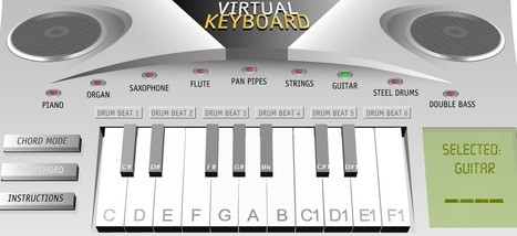 VIRTUAL KEYBOARD - Make your own music! | 21st Century Homeschooling | Scoop.it