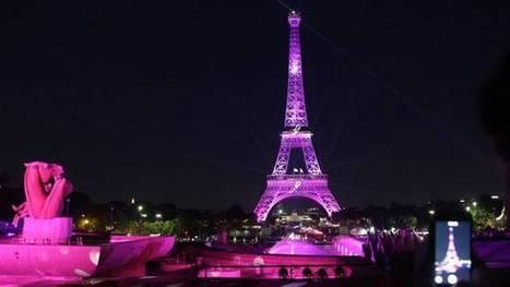 """La Tour Eiffel s'illumine pour """"Octobre Rose"""" - France Info   La Tour Eiffel   Scoop.it"""