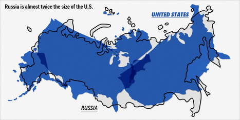 11 Overlay Maps That Will Change The Way You See The World | Awesome ReScoops | Scoop.it