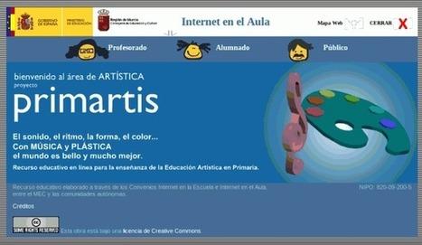 Primartis – Recurso para Educación Artística en Primaria | Eskola  Digitala | Scoop.it