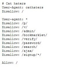 10 robots.txt files worth to have a look at   Backlinks for your Blog   Scoop.it