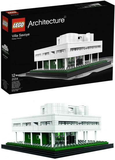 [WOW!] Villa Savoye: Classic Corbu House Comes to Life in LEGO | WebUrbanist | The Architecture of the City | Scoop.it