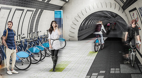 Bientôt des pistes cyclables souterraines à Londres ? | Le monde souterrain, espace d'innovation | Scoop.it