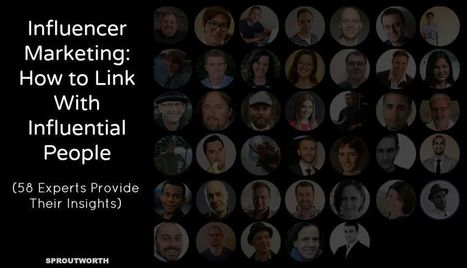 How to Boost Link Building With Influencer Marketing | Digital Brand Marketing | Scoop.it